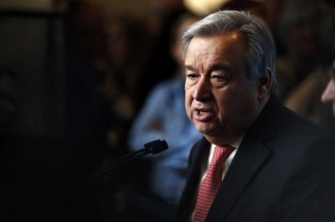 Генсек ООН Антониу Гутерреш