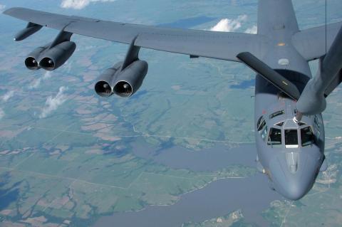 бомбардировщики B-52