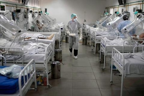Смертность от коронавируса в России