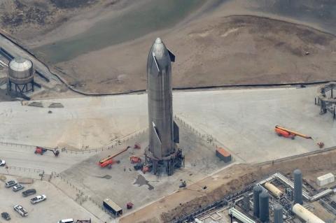 Starship SN10 готовится к старту