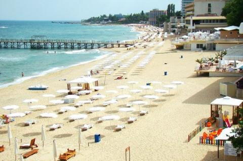 Курорт Солнечный день в Болгарии
