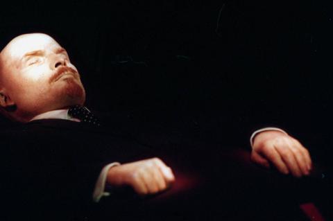 Ленин в мавзолее фото