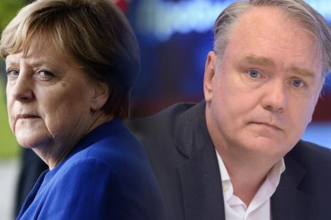 Ангела Меркель, Дмитрий Журавлев