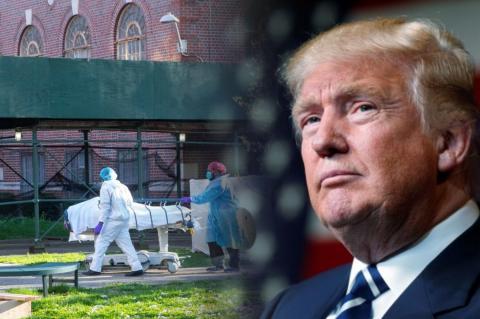 Рейтинг Трампа обновил рекорд на фоне пандемии