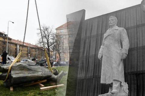 Памятник Сталину выставили на продажу в Чехии