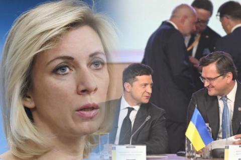 Мария Захарова про Кулебу