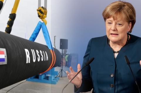 """Ангела Меркель, """"Северный поток-2"""""""
