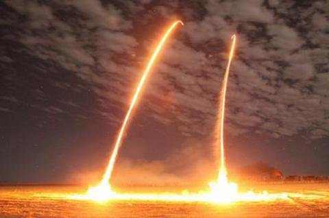 Запуск космических ракет