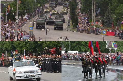 Парад Победы в Крыму