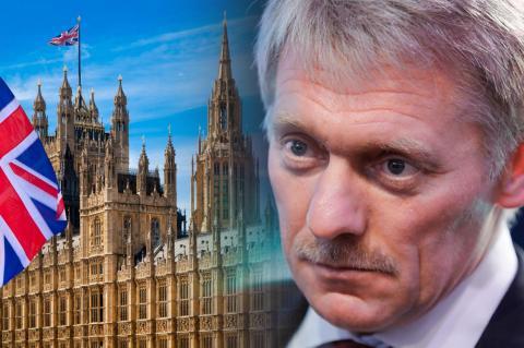 Британский парламент, Дмитрий Песков