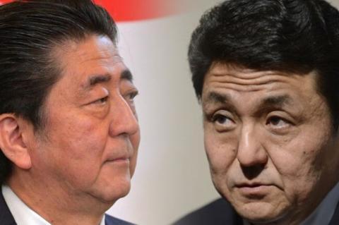 Синдзо Абэ, Нобуо Киси