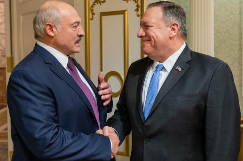 Помпео призвал власти Белоруссии провести честные и свободные выборы