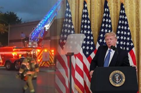 Пожар в генконсульстве КНР в США, Дональд Трамп
