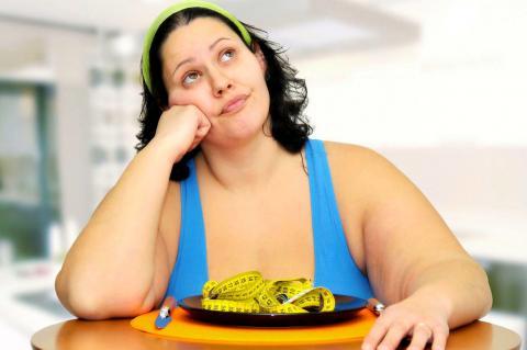 Толстушка, захотевшая похудеть