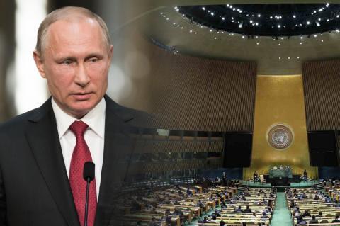 Владимир Путин, Генассамблея ООН