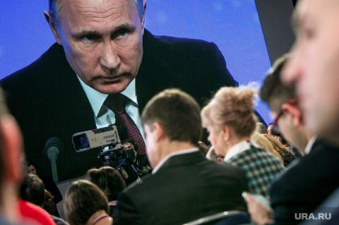 Путин: Россия не бросит Донбасс, несмотря ни на что