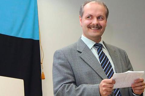 Спикер парламента Эстонии Хенн Пыллуаас