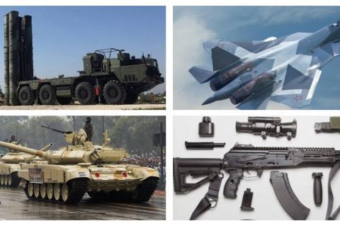 С-400, Су-57, Т-90С и АК-12
