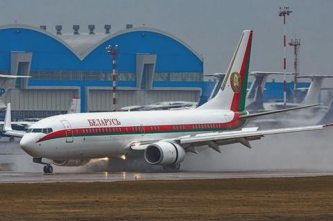 Самолет Лукашенко