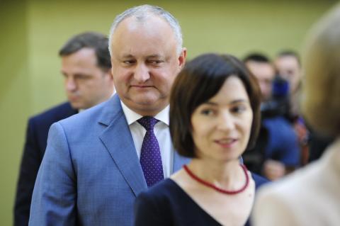 Санду лидирует на выборах главы Молдавии по 100% голосов внутри страны
