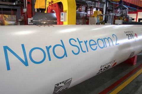 Труба для газопровода Северный поток-2