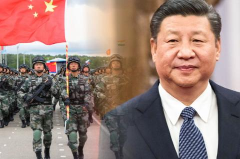 Си Цзиньпин, войска КНР
