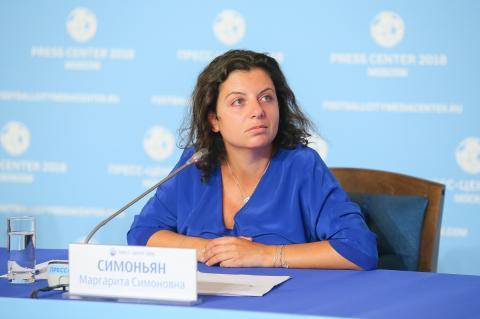 Симоньян описала вероятную войну России с США