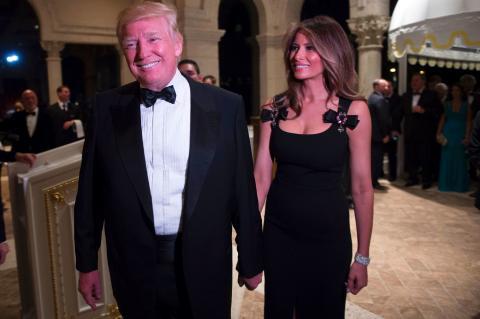 """Дональд Трамп устроил роскошную вечеринку для """"сотен друзей"""""""