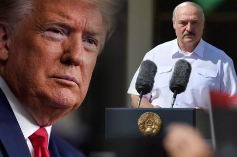 Дональд Трамп, Александр Лукашенко
