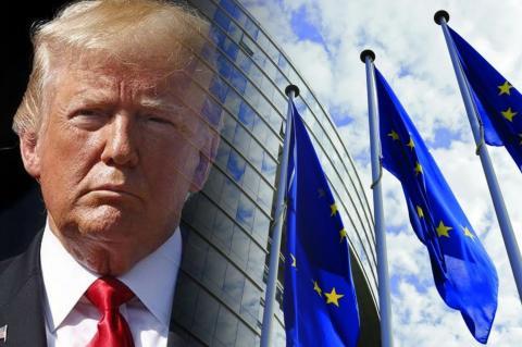 Дональд Трамп, ЕС