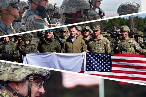 США и Польша проводят совместные военные учения