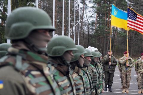 Иностранные и украинские военные