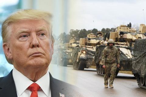Дональд Трамп, американские военные в Германии