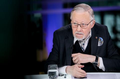 бывший лидер Литвы Витаутас Ландсбергис
