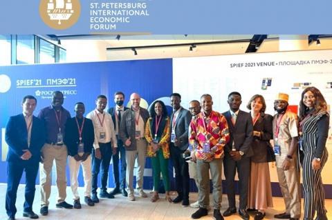О встрече АЭССА с победителями конкурса ООН-75 и Friends for Leadership из Африки
