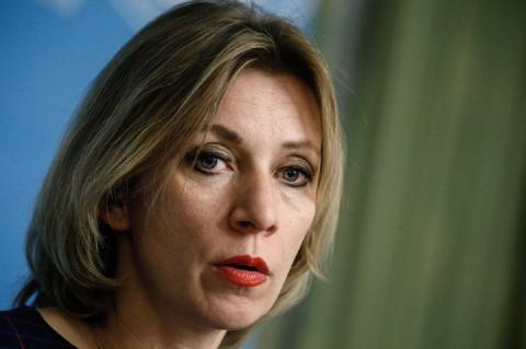 """Захарова ответила """"выигравшему спор"""" польскому министру"""
