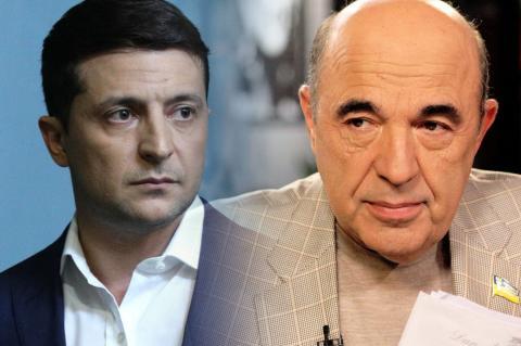 Владимир Зеленский, Вадим Рабинович