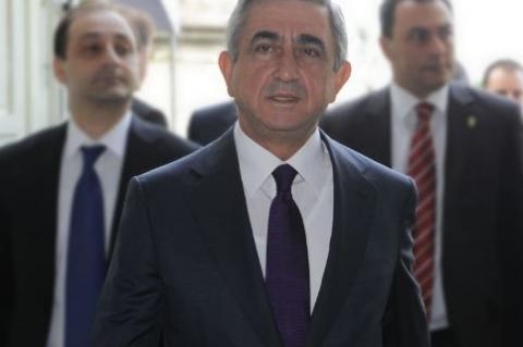Серж Саргсян назвал условия своей отставки с поста премьера Армении
