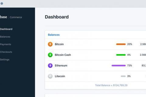 Платежный сервис Coinbase Commerce официально запущен