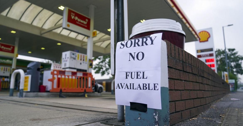 Топливный кризис в Великобритании